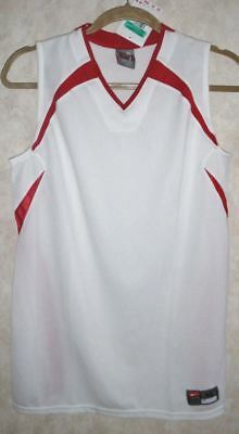 NEW Youth Boys Sz XL NIKE Ohio State White Red Basketball Team Practice Jersey