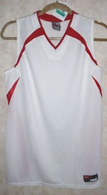 NIKE Ohio State White Red Team Practice Basketball Jersey NEW Youth Boys Sz XL