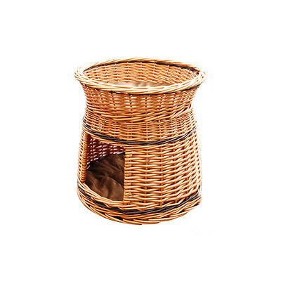 Two tiers/bunk,dog,cat,pet,bed,wicker,basket,best offer or refund the difference