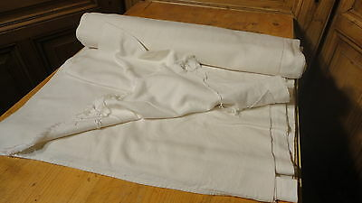 Homespun Linen Hemp/Flax Yardage 18 Yards x 24'' Plain  #2810