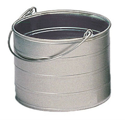 Royce Rolls Model #4 Stainless Steel 4-Gallon Round Bucket