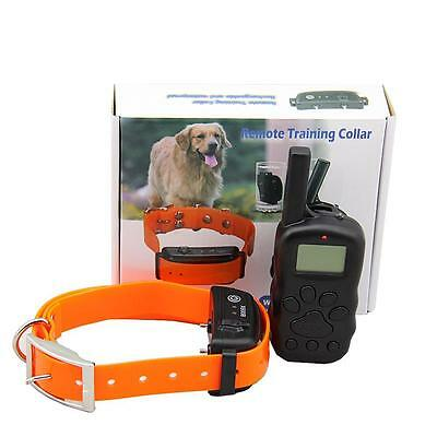 NEW 4in1 Remote Control No Barking Dog Training Collar Pet product 250M