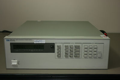 6623a With Options 750 S50 909 Agilent Hp Power Supply