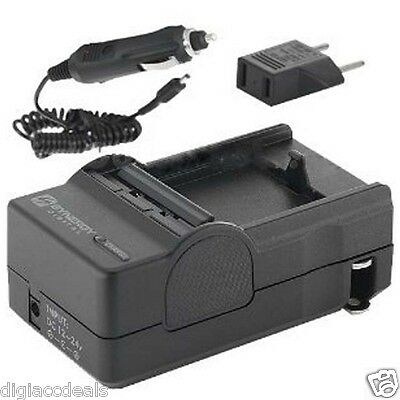 Battery Charger AC/DC 8.4V PT-22 For Canon BP508, BP511, BP511A,  batteries