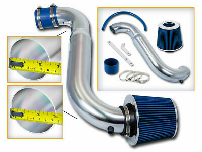 Short Ram Air Intake Kit +BLUE Filter for 91-99 Saturn S-Series SC2/SL2/SW2 DOHC