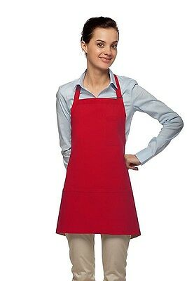 Daystar Aprons 1 Style 201 three pocket w/pencil pocket bib apron ~ Made in USA
