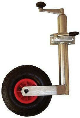 Maypole Quality Branded Caravan Trailer Pneumatic Jockey Steel Wheel with Tyre