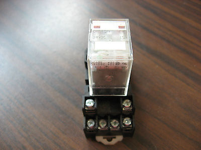 Omron MY2N Cube Relay With Base 8 Pin Square