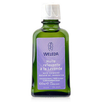 1 PC Weleda Lavender Relaxing Body Oil 100ml Soothing Skin Scent Peaceful Sleep