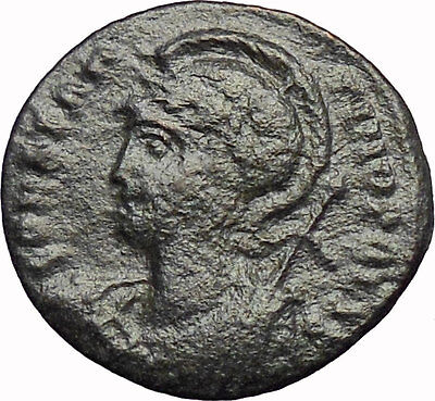 Constantine I the Great  Founds CONSTANTINOPLE 330AD Ancient Roman Coin i29075