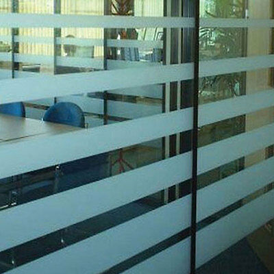Frosted Etch Glass Safety Window Manifestation Privacy Film Strip