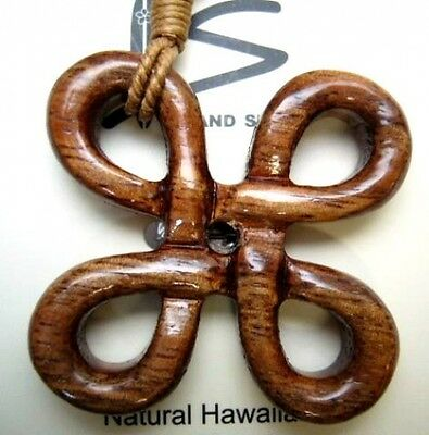 Genuine Koa Wood  Hawaiian Jewelry Pendant Choker/Necklace # 45044