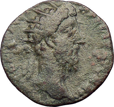 Commodus 177AD Ancient  Roman Coin Good Luck  Possibly Unpublished  i29017