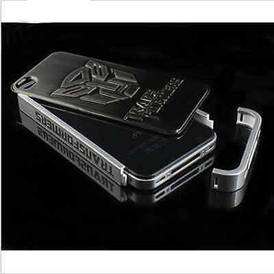 Deluxe Transformers Aluminum plating Hard Back Case Cover for iPhone 4 4G 4S