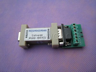 RS-232 to RS-485/RS-422 Interface Converter Adapter 9Pin