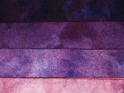 """Sugilite"" -  hand dyed rug hooking wool fabric  (1) Fat Quarter 100% Wool"