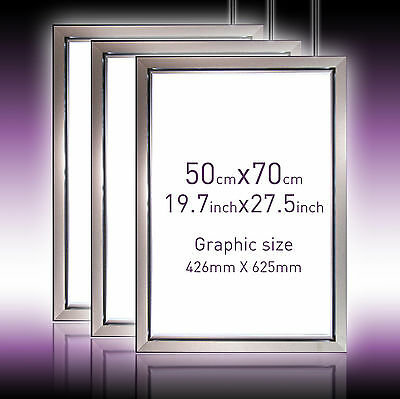 50X70cm Ultra Slim LED Lightbox Whole sale (3 packs £129each) brighter save more