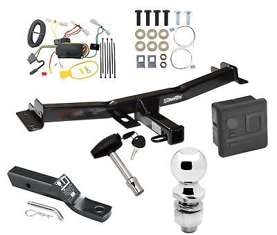 trailer hitch for 07-14 toyota fj cruiser deluxe package w wiring 2