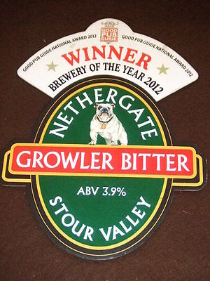 Beer Pump Clip - Growler Bitter