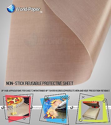 5 Pack Protective Non-Stick Sheet 16x20 Heat Press Machine Transfer