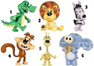 Raa Raa The Lion Sticker Wall Deco Or Iron On Transfer Hufty Topsy Crocky Zebby