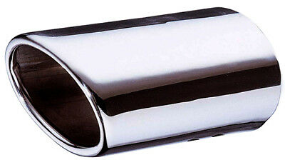 E-Tech Car Vehicle Polished Stainless Dynamic Exhaust Tail Pipe Replacement Tip
