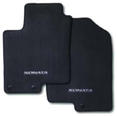 2011-2014 Hyundai Sonata 4Pc Set Black Carpeted Floor Mats (3Qf14-Ac200-Ry)
