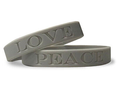 Custom Rubber Silicone Wristband Bracelets Engraved Wholesale Bands Personalized