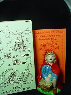 """WADE LITTLE RED RIDING HOOD 4.50"""" TALL 1998 Ltd ed new in box ideal gift ref 7"""