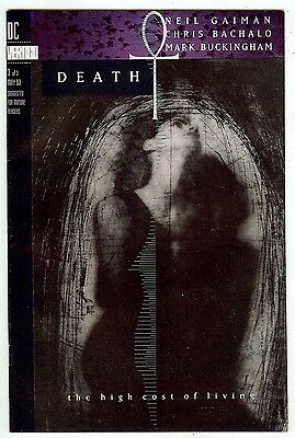 Death: The High Cost of Living #3 (DC/Vertigo, 1993) Gaiman & Bachalo/Buckingham