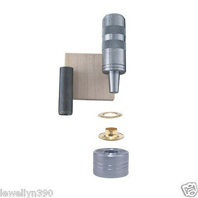 "General Tools 1/4"" Grommet Fastening KIT #71260  NEW!"
