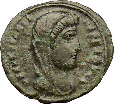CONSTANTINE I the GREAT 347AD  Ancient Roman Coin Christian Deification i29246