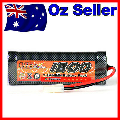 HSP 1800 mAh 7.2V Rechargeable NiMH Battery for RC Drift Car Buggy Truck Tamiya