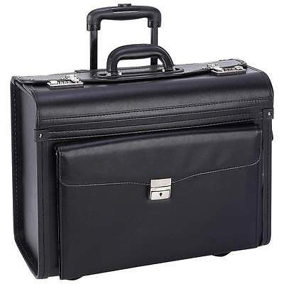 New Catalog Sample Pilot Case Travel Luggage Rolling Wheeled Business Briefcase