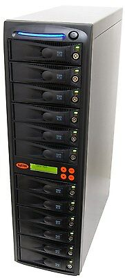 1-11 SATA Hard Disk Drive (HDD/SSD) Duplicator/Sanitizer - High Speed(150MB/sec)