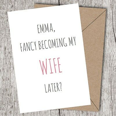 Personalised On Our Wedding Day Card - To My Wife/Bride