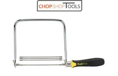 Stanley FatMax Coping Saw with 3 free blades 0-15-106  STA015106