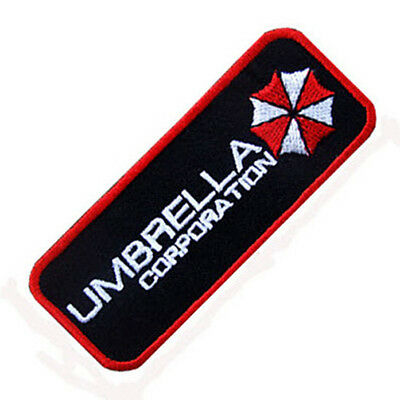Resident Evil Umbrella Corporation Badge Iron On Patch