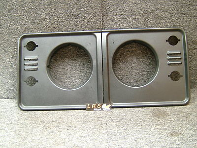Land Rover Defender TD5 Headlight Surrounds DHH100780PUC DHH100790PUC IN BLACK
