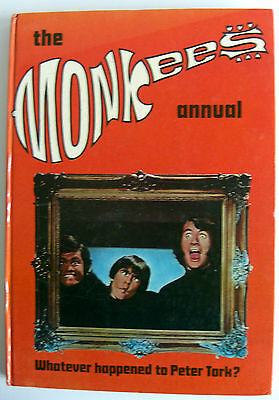 Rare Uk Hb Pop Book - The Monkees Annual 1969 - Unclipped - Vgc