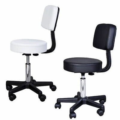 Massage Stool Beauty Salon Swivel Gas Lift Manicure Tattoo Stools Chair 2 Colour