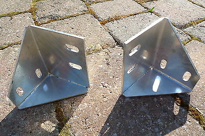 Sill Brackets Galvanized 333259 333260 Land Rover Series 2A 3 109 Station Wagon