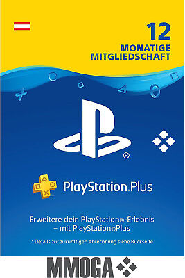 PlayStation Plus - PlayStation Network 365 Tage (1 Jahr) PSN Card [AT] [NEU]