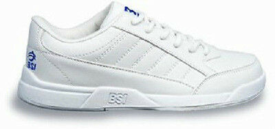 BSI Boys Basic White Youth Bowling Shoes