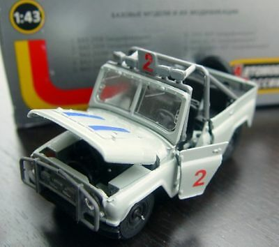 RUSSIAN OFF-ROAD 4x4 UAZ 469 VERSION FOR AFRICA - MODEL 1/43