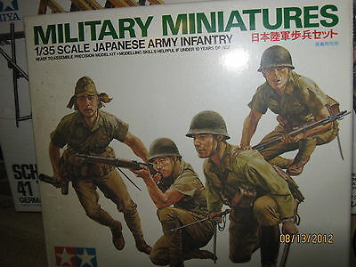 Tamiya Military Miniatures WWII Japanese Army Infantry-1/35 Scale-FREE SHIPPING