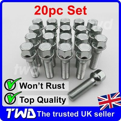 Nuts bolts studs car wheels tyres trims vehicle for Mercedes benz lug nuts