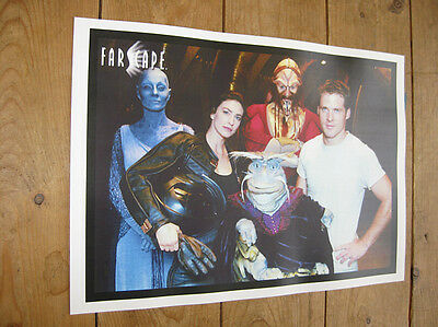 Farscape Great New Cast POSTER