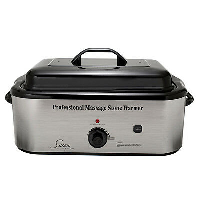 Sivan Health and Fitness 18QHTR Massage LG Professional Hot Stone 18 Qt Heater