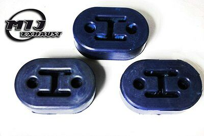 3 x Uprated Exhaust Mounting Rubber Hanger Support to fit Fiat Ducato Motor Home